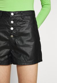 Missguided - DENIMEXPOSED  - Shorts - black - 4