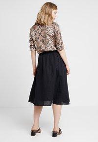 Esprit - A-line skirt - black - 2