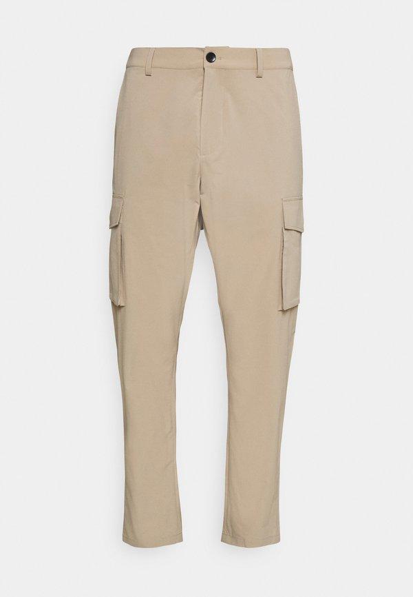 Esprit Collection SUIT PANT - BojÓwki - beige/beżowy Odzież Męska ODYQ