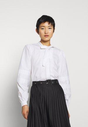 BECKI BLOUSE - Button-down blouse - white