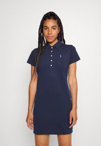 Polo Ralph Lauren Golf - SHORT SLEEVE CASUAL DRESS - Sports dress - french navy - 0