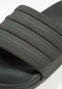 adidas Performance - ADILETTE MONO - Chanclas de baño - core black - 5