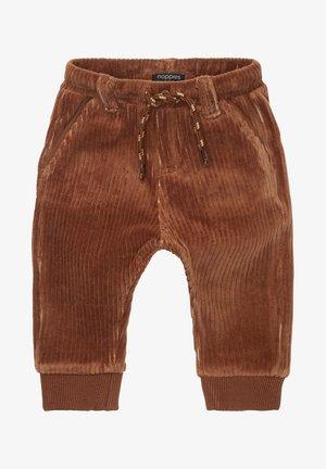 Trousers - carob brown