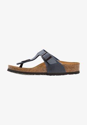 GIZEH - T-bar sandals - navy