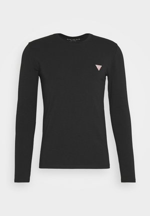 CORE TEE - Long sleeved top - jet black