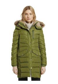 TOM TAILOR - SIGNATURE PUFFER COAT - Winter coat - wood green - 4