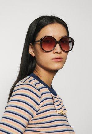 Sunglasses - brown/orange