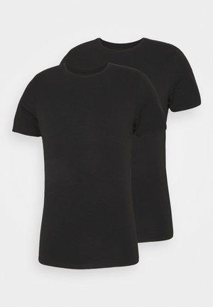 BAMBOO 2 PACK - Undershirt - schwarz