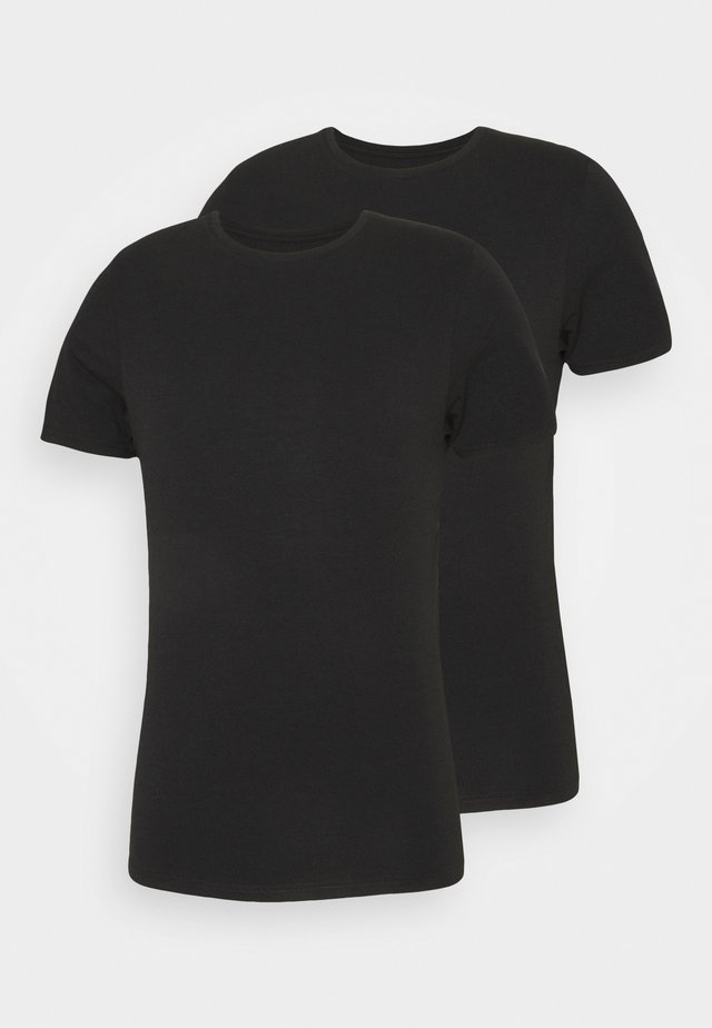 BAMBOO 2 PACK - Hemd - schwarz