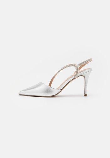 MANDELL - Classic heels - silver