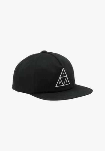 ESSENTIALS UNSTRUCTURED - Cap - black