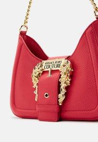 Versace Jeans Couture - BUCKLE SHOULDER BAG - Across body bag - paradise - 8