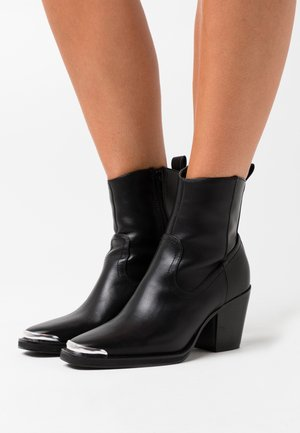 ONLBELIZE BOOT - Cowboy/biker ankle boot - black