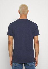G-Star - BASE - Jednoduché triko - sartho blue htr - 2