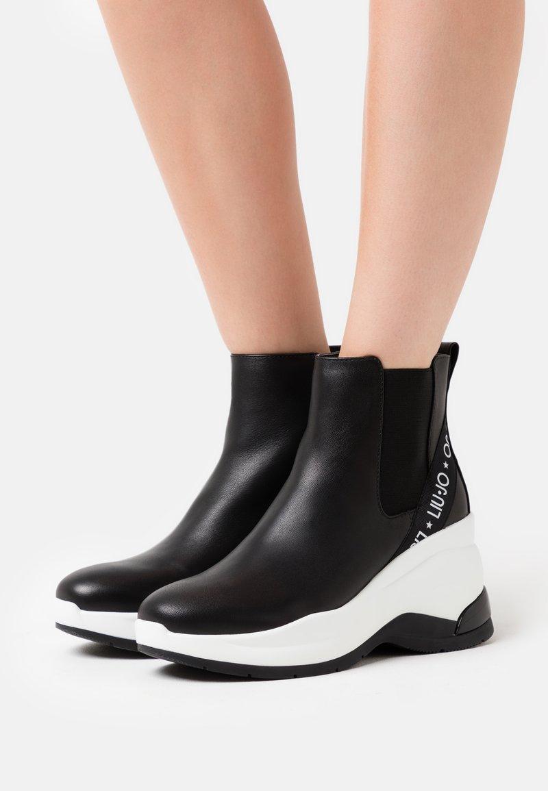 Liu Jo Jeans - KARLIE REVOLUTION  - Ankle boots - black