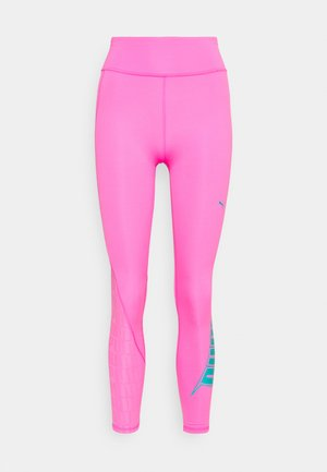 TRAIN FIRST MILE XTREME 7/8 TIGHT - Punčochy - luminous pink