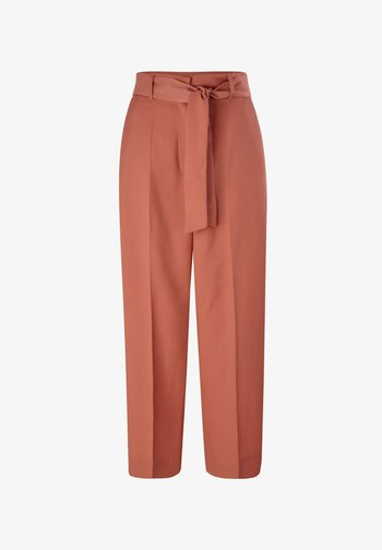 REGULAR FIT - Trousers - dusty apricot