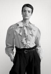 Alberta Ferretti - CAMICIA - Long sleeved top - white - 6