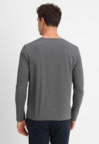 GANT - SHIELD - Long sleeved top - dark grey melange - 2