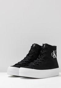 Calvin Klein Jeans - ZABRINA - High-top trainers - black - 4