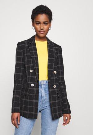 EDIT GRID CHECK JACKET - Krátký kabát - multi coloured