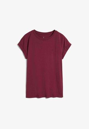 IDAA  - Basic T-shirt - ruby red