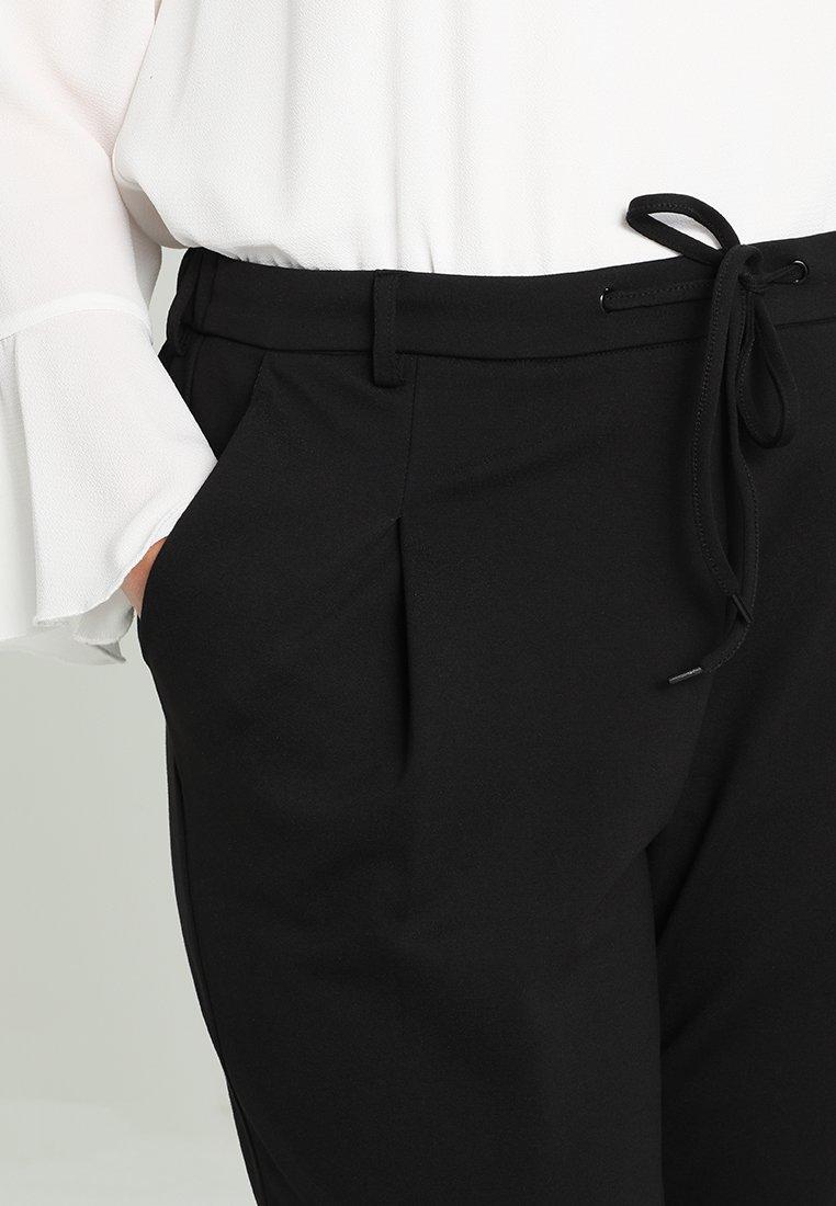 Zizzi ZMADDISON CROPPED PANT - Træningsbukser - black -  fGAzD