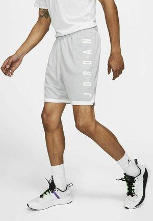 Short de sport - light smoke grey/white