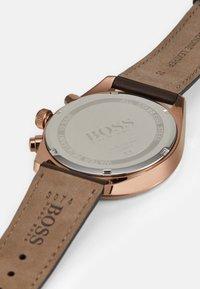 BOSS - CHAMPION - Chronograph watch - brown - 3