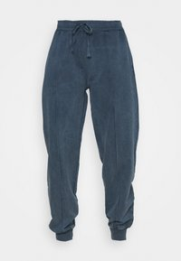 Topshop - ACID WASH JOGGER - Tracksuit bottoms - denim blue - 3