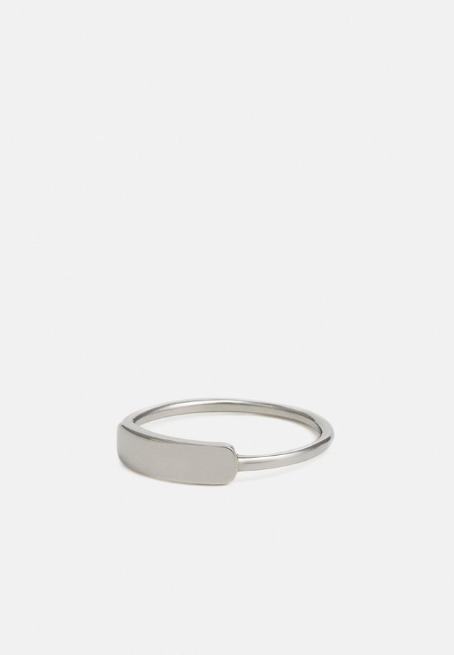 MARQUE UNISEX - Anello - silver-coloured