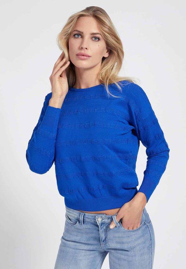 Sweater - königsblau
