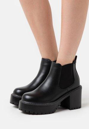 HEAT - Kotníková obuv - black