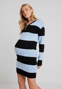 Supermom - DRESS STRIPE - Jumper dress - placid blue - 0