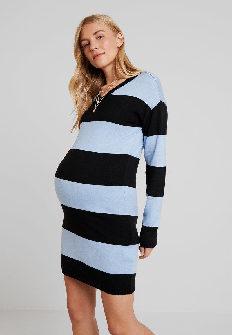 Supermom - DRESS STRIPE - Jumper dress - placid blue
