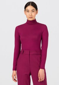 HALLHUBER - Long sleeved top - cassis - 0