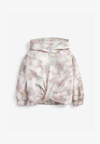 Mikina skapucí - light grey