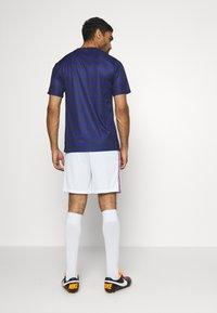 Nike Performance - FRANKREICH FFF SHORT - Short de sport - white/concord - 2