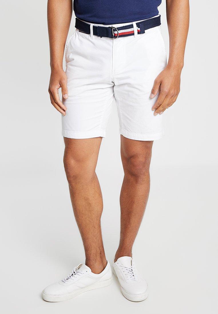 Tommy Hilfiger - BROOKLYN LIGHT BELT - Shorts - white