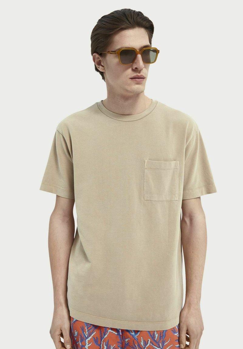 Scotch & Soda - Basic T-shirt - sand