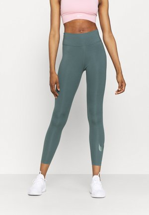 NIKE ONE 7/8 - Tights - hasta/white