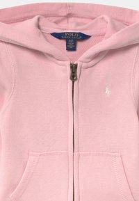 Polo Ralph Lauren - HOODIE - Mikina na zip - hint of pink - 2