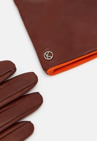 Otto Kessler - Gloves - tobacco/vermillion orange - 1