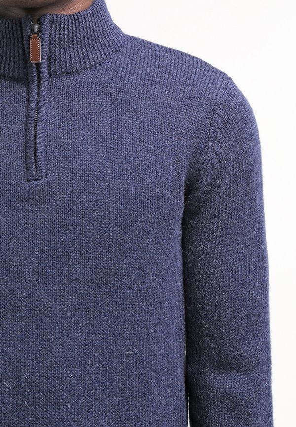 Pier One Sweter - blue melange/granatowy Odzież Męska UXSM