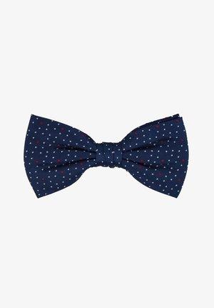 MICRO DOT BOWTIE - Pajarita - blue