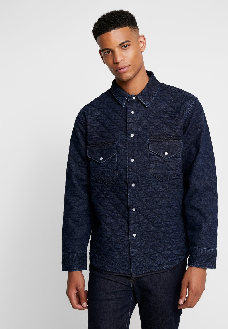 Levi's® Made & Crafted - QUILTED WESTERN - Kurtka jeansowa - lmc outback