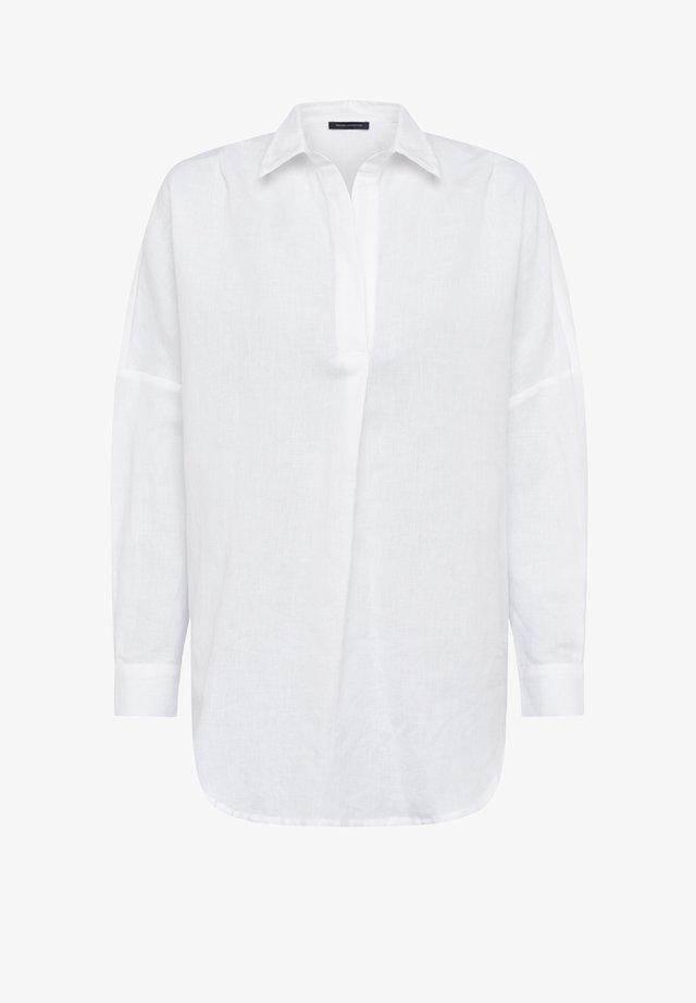 Blouse - linen white