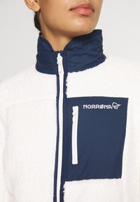 Norrøna - JACKET - Giacca in pile - off-white - 5