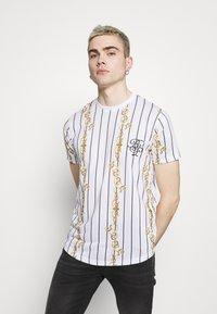 Brave Soul - CALOR - T-shirt imprimé - optic white - 0