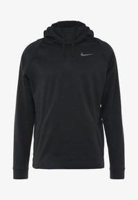 Nike Performance - Jersey con capucha - black/dark grey - 4